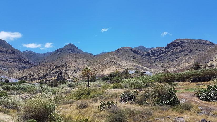 barranco de El Risco, Agaete