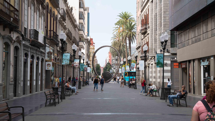 Calle Mayor de Triana, Las Palmas de Gran Canaria