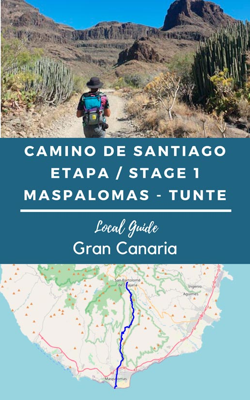 Track stage 1 - Way of St James Gran Canaria