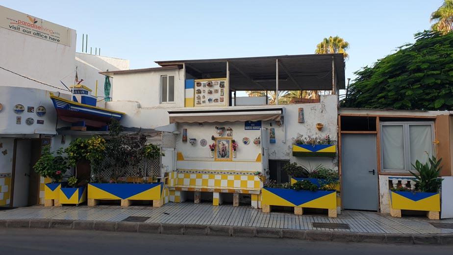 Casa típica de Arguineguín