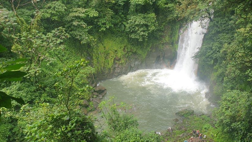 Catarata Río Celeste, qué hacer costa rica