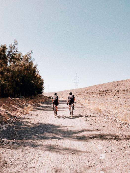 Ruta en bici por Aldea Blanca