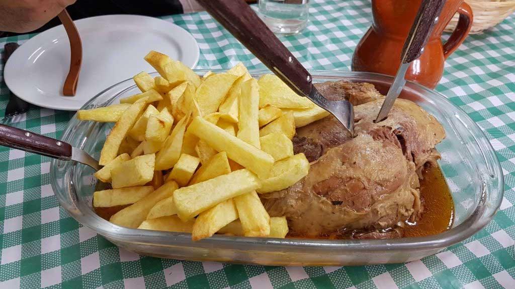 Lamb Leg Casa Josefina restaurant
