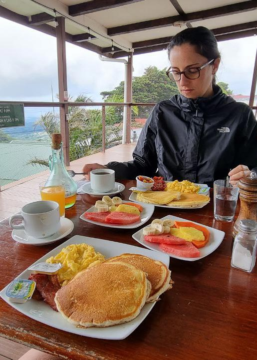pancakes de desayuno