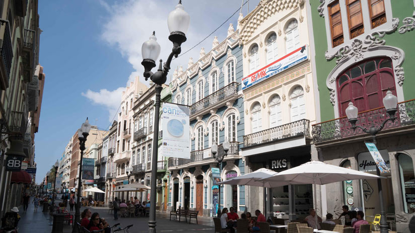 edificios Triana, Las Palmas