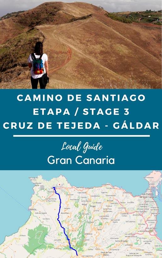 etapa 3 camino de santiago gran canaria