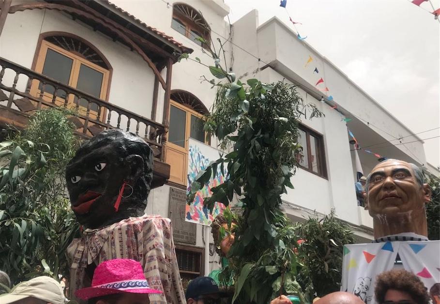 Fiesta de la rama y papagüevos en Agaete