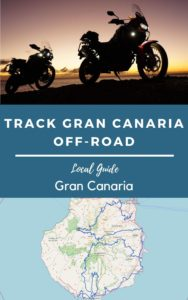 gran canaria by trail motorcycle