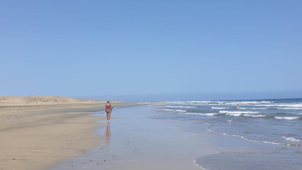 nudist area in Maspalomas