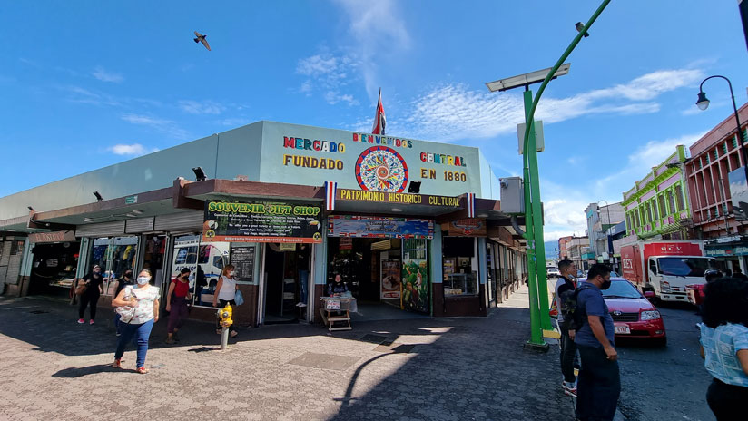 Places to visit in Costa Rica: Central market of San José