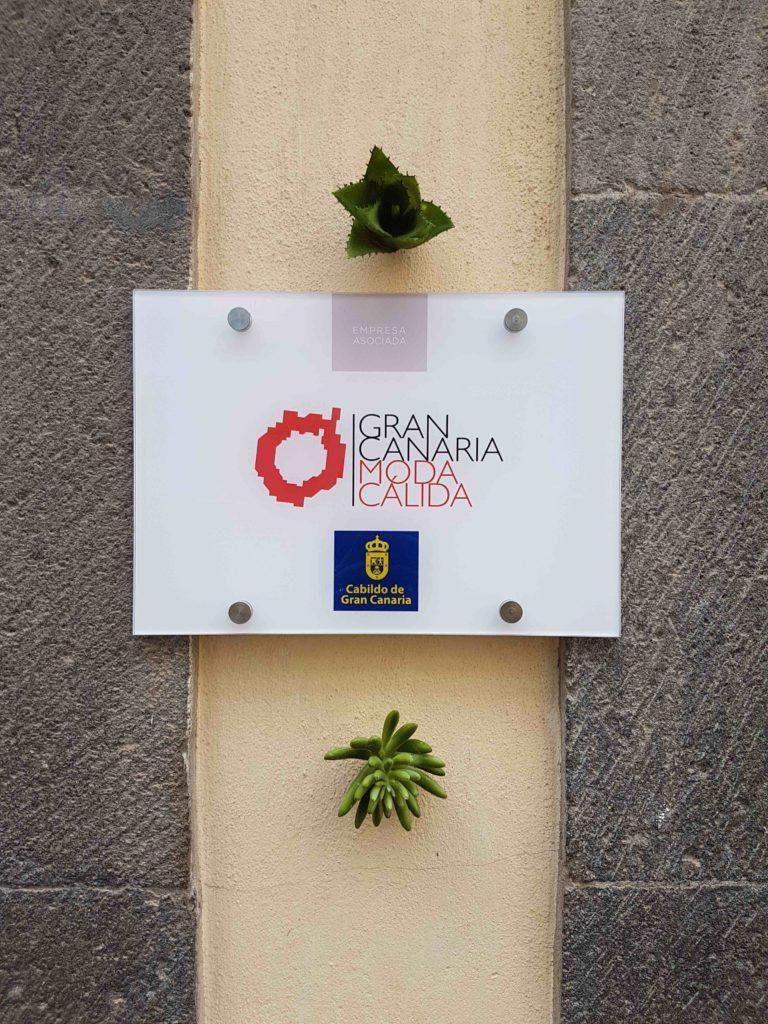 Placa Gran Canaria Moda Cálida