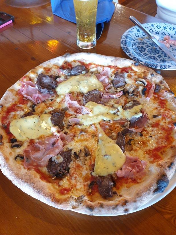pizza solomillo addio mare