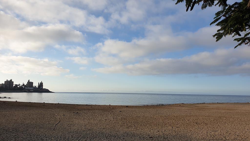 Playa de Arguineguín, isla de Gran Canaria