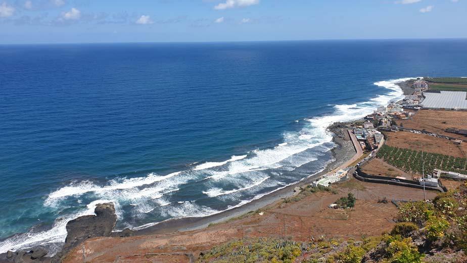 San Felipe beach and northern coast, Gran Canaria