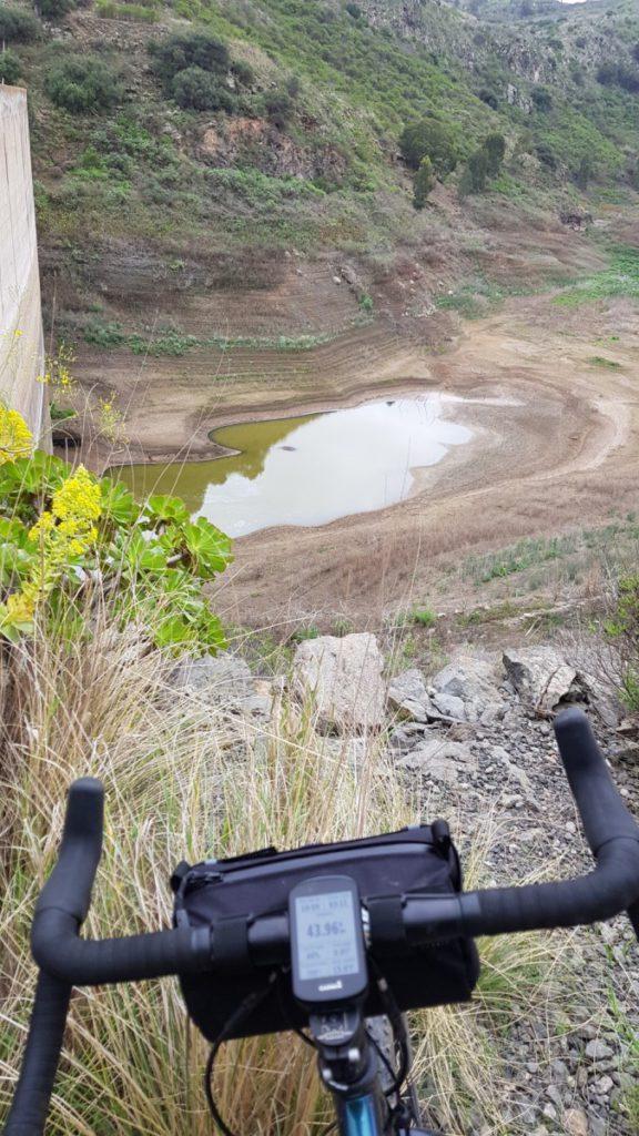 Pintor dam in Guiniguada ravine