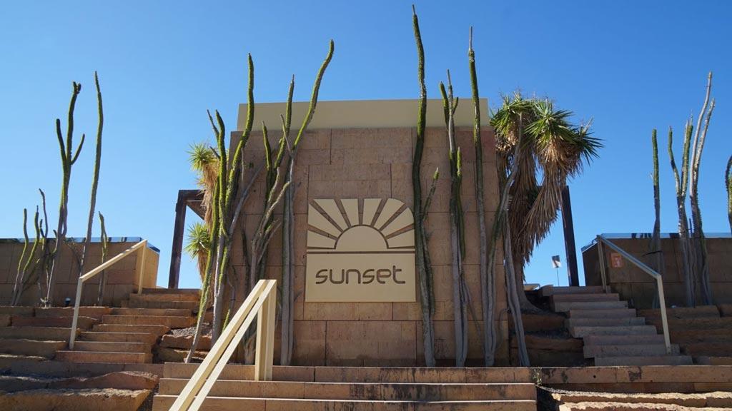 Sunset in Salobre Hotel