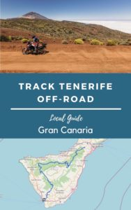tenerife by trail motorcycle