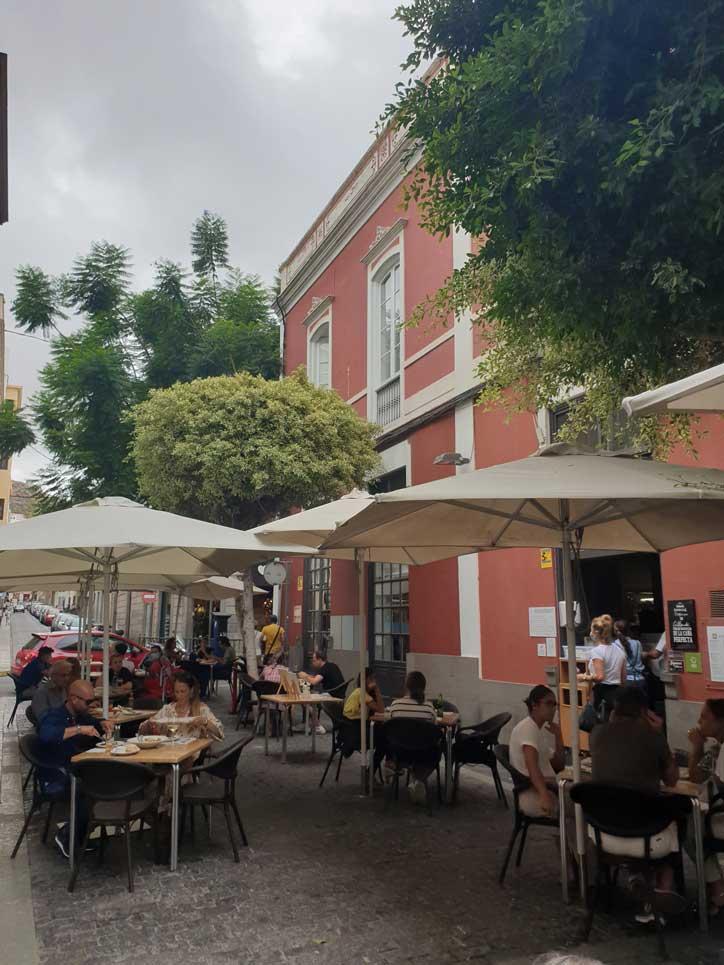 restaurantes con terraza en Las Palmas allende, Triana