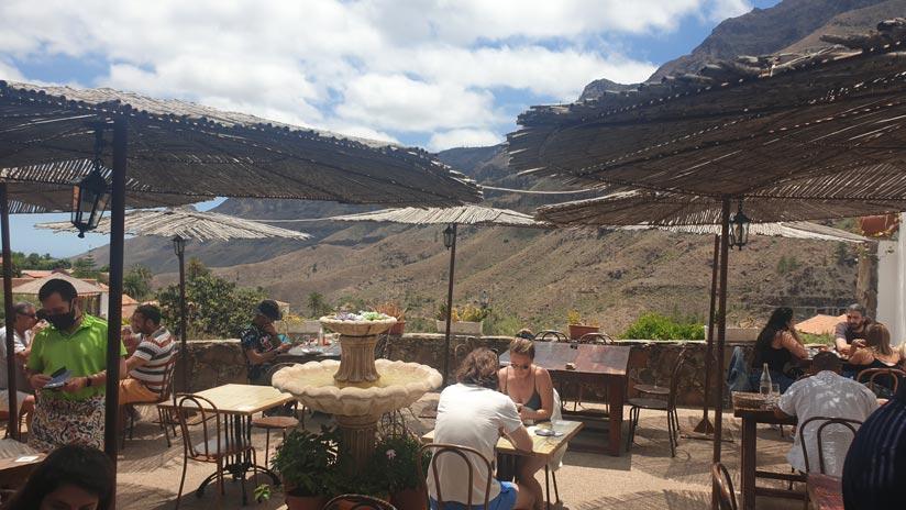 Terraza Restaurante El Albricoque