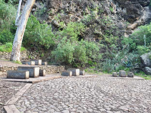 Zona de picnic barranco de Azuaje